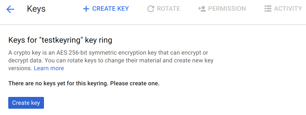 Encrypt a Java application with Cloud KMS